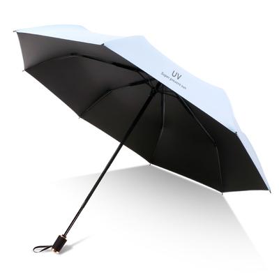 【爆款返场】思亦黑胶折叠晴雨两用雨伞