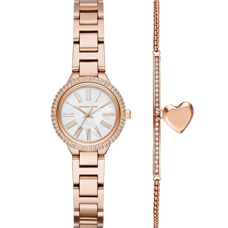 MK明星同款小众手表女简约气质时尚小表盘女士手链手表礼物MK3858