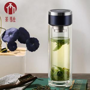 【茶马仕】双层玻璃杯318ML