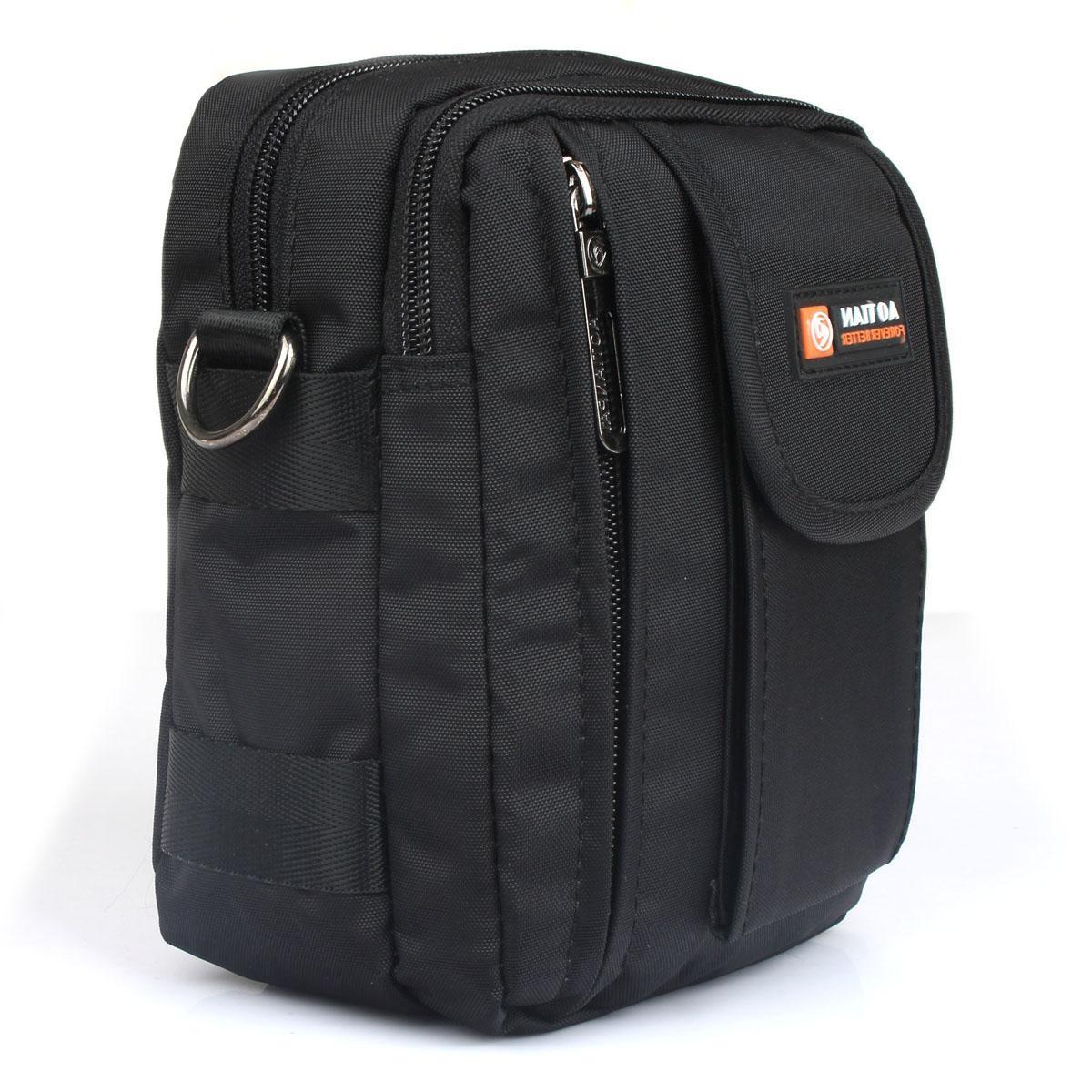 男单肩迷你男士运动背包腰挂包小包休闲斜挎包多功能包包穿皮带小