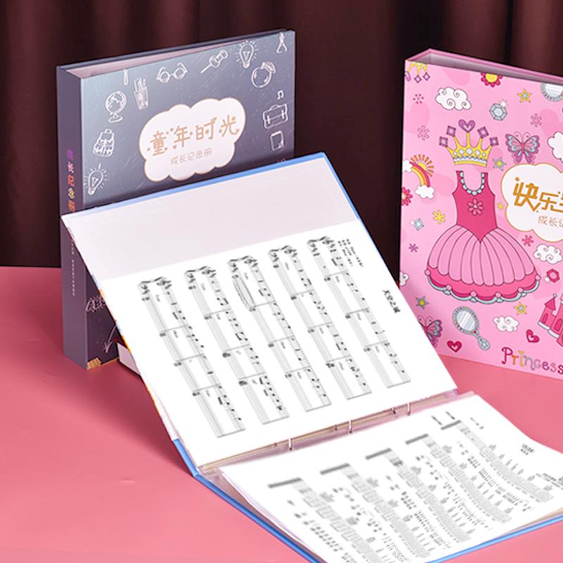 乐谱夹子琴谱夹活页儿童卡通钢琴谱不反光A4学生透明插页音乐谱夹展开式收纳册奖状纸开心