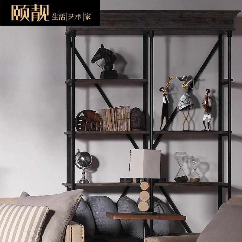 北欧ins风客厅家具装饰品桌面复古摆设小摆件创意v桌面铁艺饰品