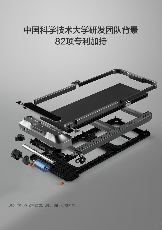 小米生态链 金史密斯 R2 21新款可折叠静音智能走步机 脚感+遥控+语音控制 图3