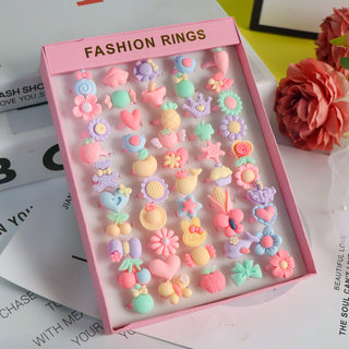 Children's Rings Girls Baby Rings Girls Princess Jewelry Prize Gifts Gifts Cute Children's Toy Rings