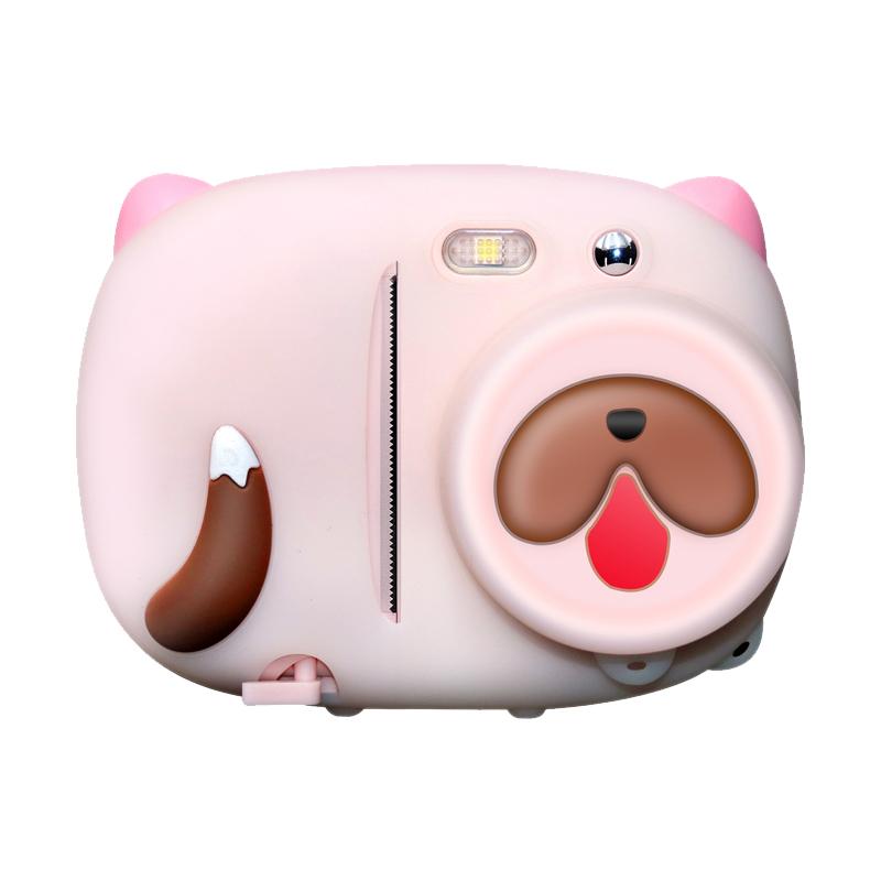 Amkov-P02 儿童数码照相机玩具拍立得可拍照可打印高清便携小单反