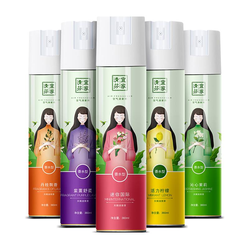 超市同款、5种香型可选:360ml 宜家 空气清新剂喷雾