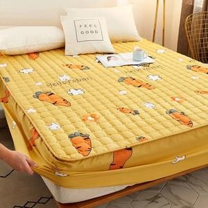 床笠夹棉加厚床罩床垫套席梦思保护套