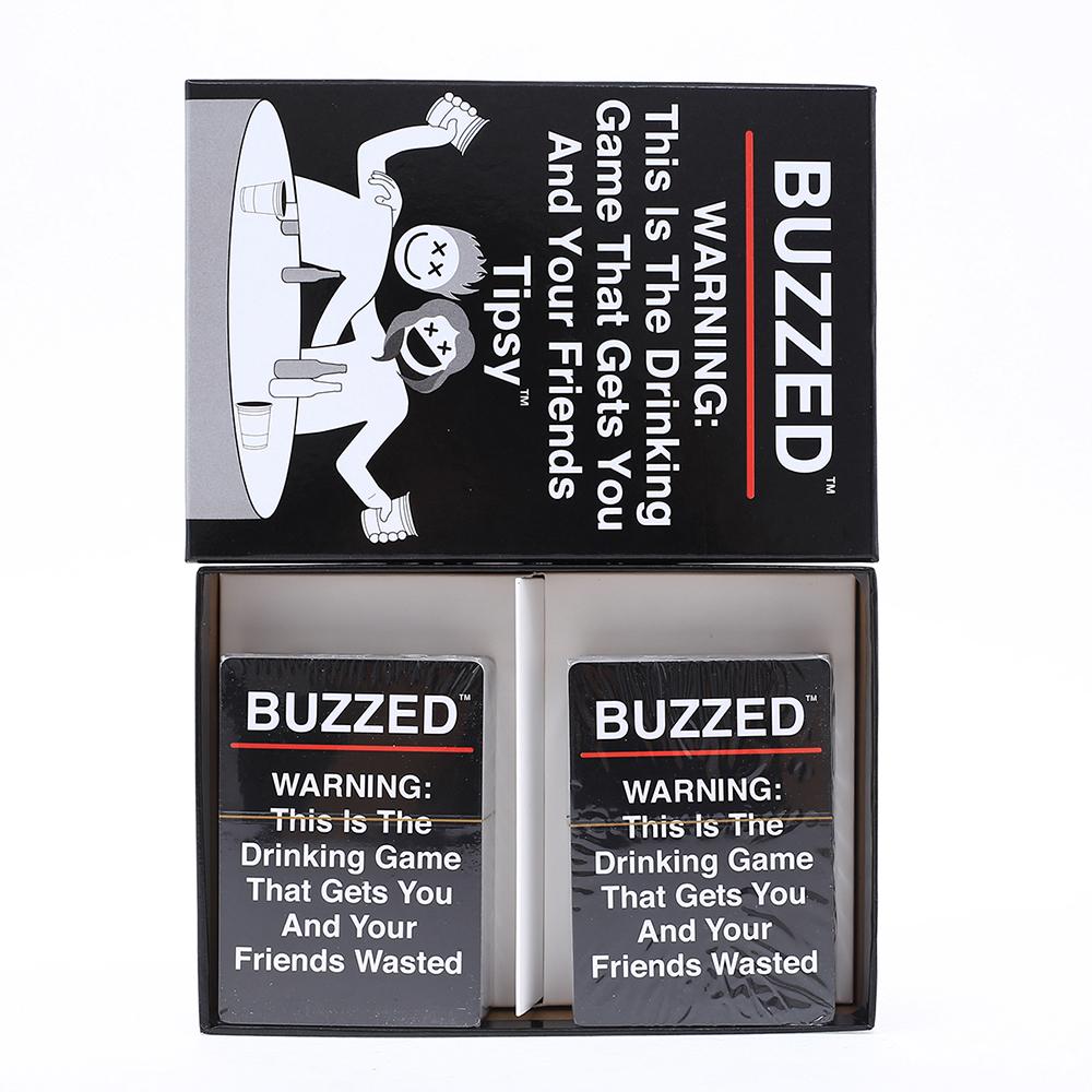 【頂峰娛樂】英文版 Buzzed 新款醉酒卡牌Tipsy Card Board Game 桌游卡牌游戲