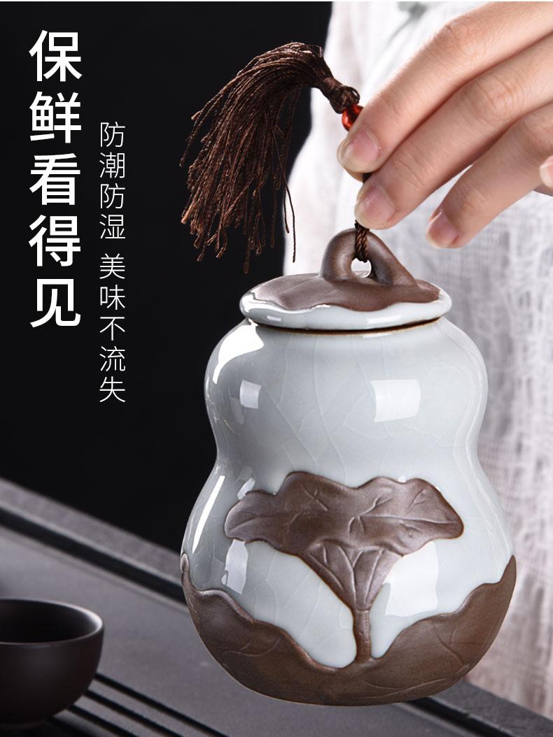 HaoFeng elder brother up kung fu tea set of a complete set of household ceramic teapot teacup tea tea wash tea tureen) taking