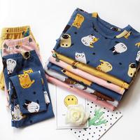 Детские чистый хлопок нижнее белье комплект мужские и женские Детская Qiuyi Qiuku детские осень-зима стиль Детская одежда удерживающий тепло пижама