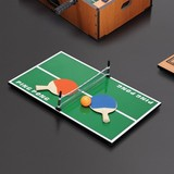 Net red table tennis indoor large mini table folding table tennis table parent-child table tennis