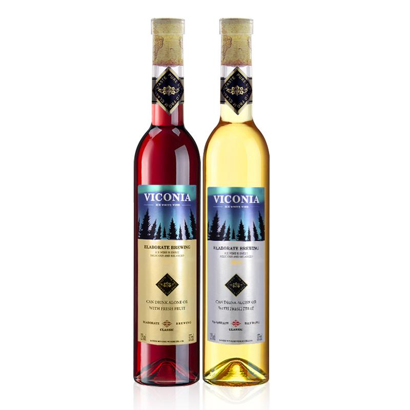 【赠酒具6件套】冰酒冰白少女士果酒葡萄酒甜型甜红约会红酒正品