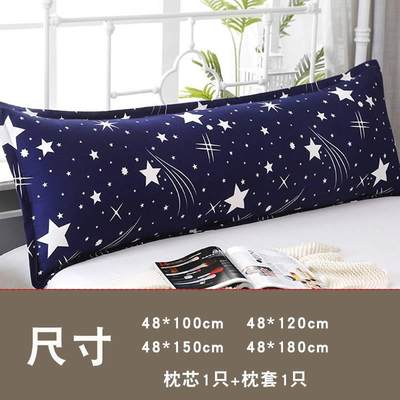 Nordic hotel pillow double long pillow net celebrity boutique practical modern ins fresh dormitory durable personality mite