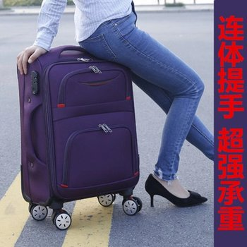 Oxford cloth suitcase men and women travel box universal wheel student trolley luggage canvas box
