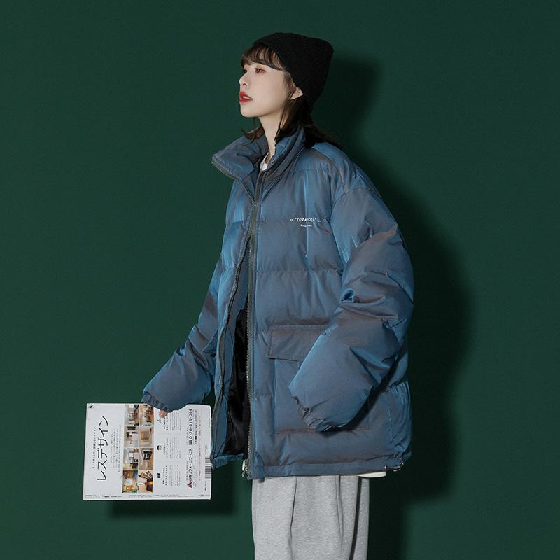 棉衣女外套冬季新款设计感小众2021爆款棉服小个子今年流行小棉袄