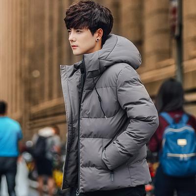爵森马伯特棉衣男2019冬季新款帅气棉服韩版修身潮流男装外套