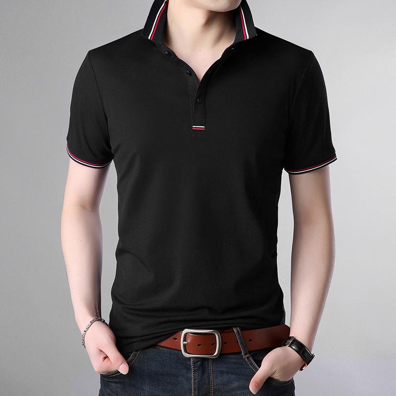 纯棉短袖T恤POLO衫简约保罗衫