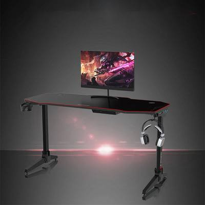 55 Inch Ergonomic Gaming Desk E-sports Computer Table PC Lap