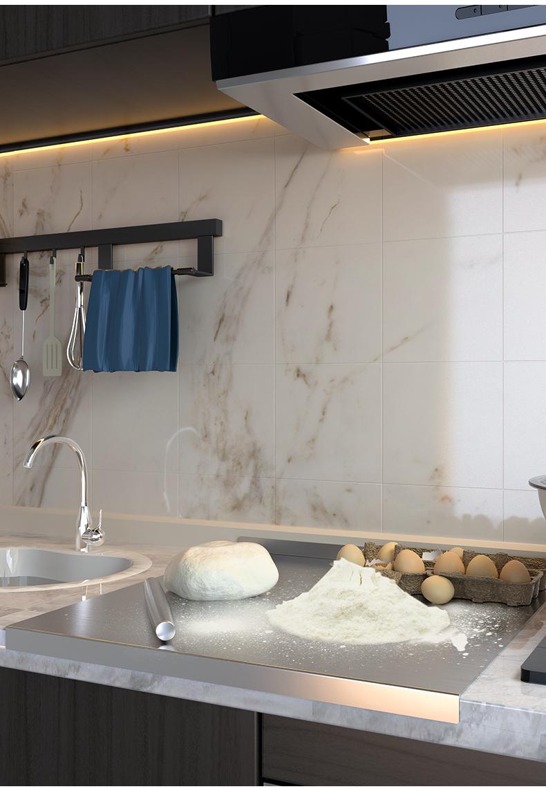 食品级不锈钢擀面板案板和麵板厨房菜板砧板揉麵板加厚大尺码详细照片
