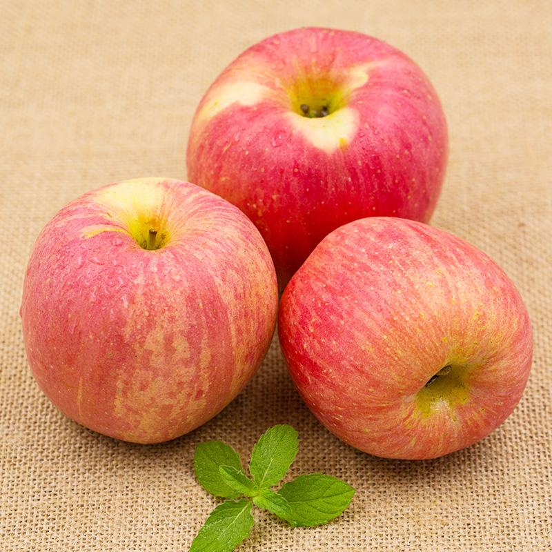 精选红富士苹果水果整箱10斤5斤当季新鲜水果冰糖心丑苹果非陕西