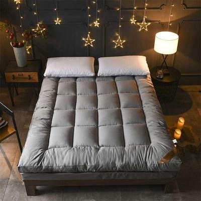 Thicken 10cm feather velvet mattress single student dormitory mattress tatami 1.5 meters double 1.8 meters mattress
