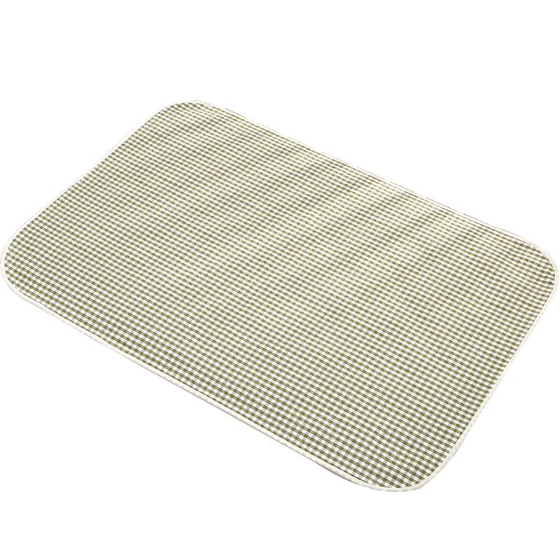 苎麻隔尿垫生理期姨妈垫防水可洗经期垫防漏学生女夏季四层月经垫