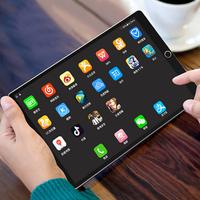 2019 новая коллекция Ipad ультратонкий плоский экран панель Компьютер 12 дюймов десять core полностью Обучение игре Netcom 2 в 1 android Любовный пирог Samsung Screen Phone ест курицу для в подарок Huawei Xiaomi свет 2020