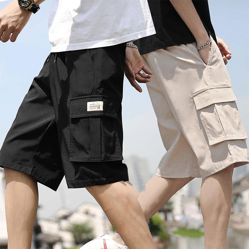 短裤男夏季五分工装马裤薄款七分中裤
