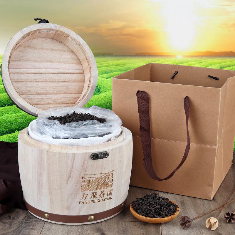云南普洱高端送礼木桶装红茶茶叶