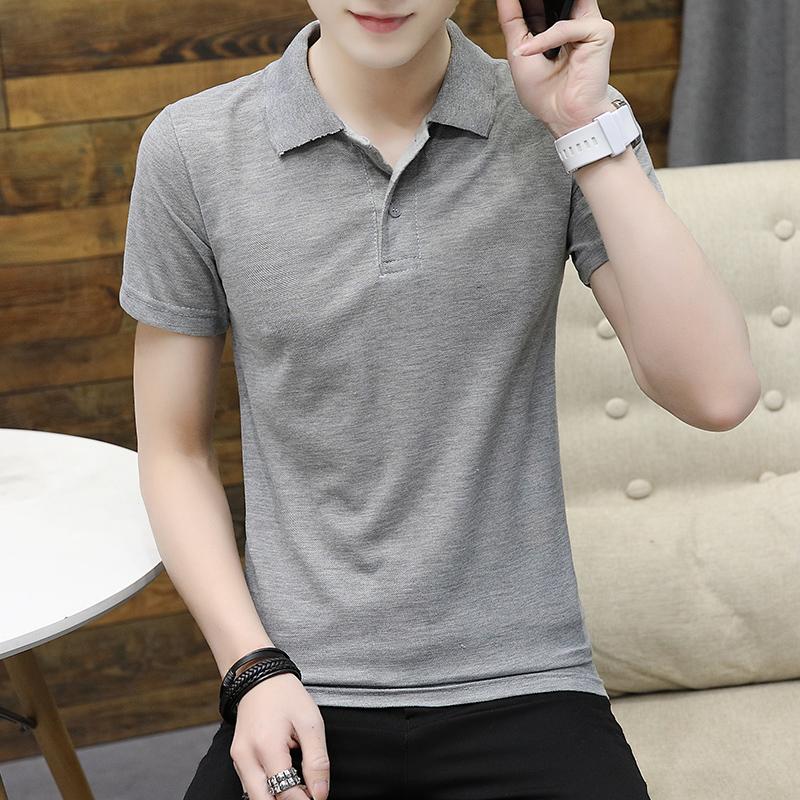 O1CN01b1zkKR1Fe4znO93pK !!0 item pic - 男士纯色短袖t恤韩版潮流透气百搭