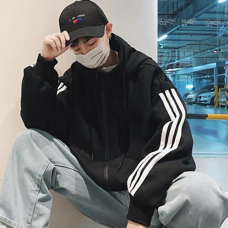 赛玛伦男士夹克卫衣外套新款夹克男韩版学生百搭冬衣大码秋季男装