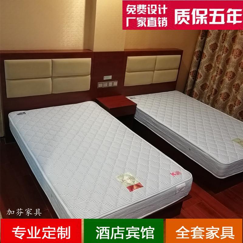 Đầu giường gói mềm TV bàn căn hộ tùy chỉnh nhanh nội thất khách sạn khung giường hộp cho khách sạn đầy đủ bộ đồ nội thất khách sạn - Nội thất khách sạn