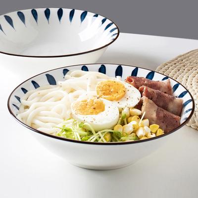 碗碟套装家用泡面碗日式陶瓷饭碗拉面碗盘汤碗筷水果沙拉网红餐具