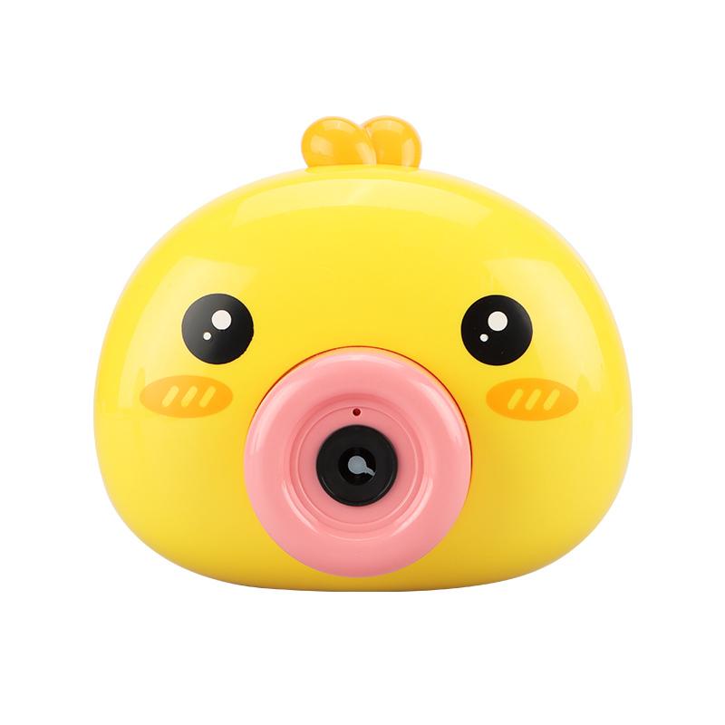 宝贝趣网红泡泡相机小黄鸡户外玩具吹泡泡抖音款自动吹跑包邮