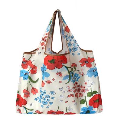 加厚买菜包兜环保超市购物袋可折叠便携大容量手提布袋子外出旅行