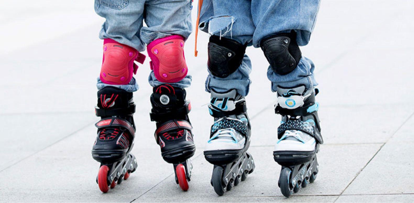 欧标GS认证 Solex 儿童初学 直排轮滑鞋 长宽双向调节 图2