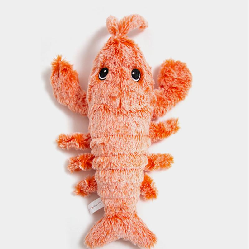宠有引力猫薄荷猫玩具鱼龙虾猫咪电动狗啃咬玩具自嗨自动逗猫神器