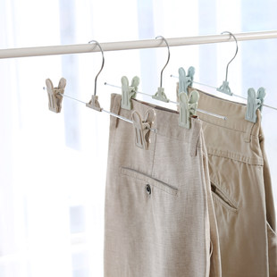 Pants shelf pants clip multifunctional seamless household strong belt clip retractable pants hanger pants clip pants hanging