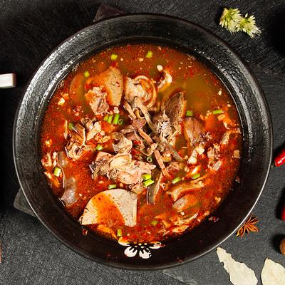 老诚一锅 全羊杂汤新鲜羊肉汤草原特产熟食羊杂碎方便加热即食