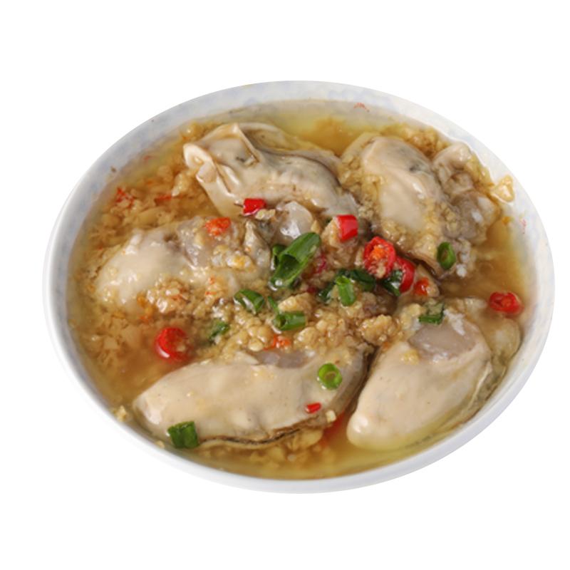 大洋客生蚝即食小海鲜麻辣蒜蓉生蚝肉鲜活乳山牡蛎海蛎子熟食罐头