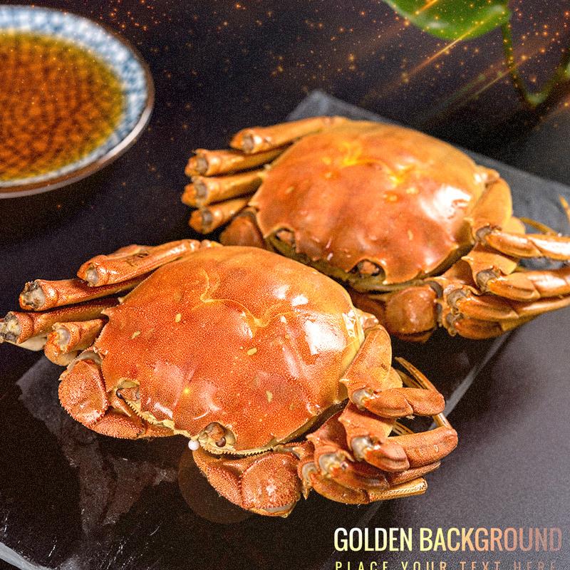 【第2件29元】拍2件共16只鲜活大闸蟹