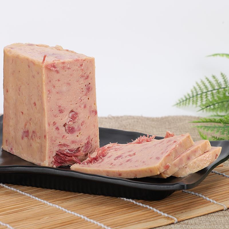 汇泉优级午餐肉罐头340g火腿猪肉即食火锅泡面螺蛳酸辣粉夹三明治