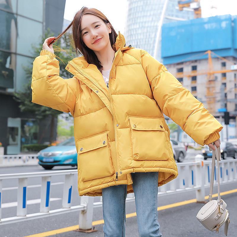 北闪冬季新款百搭时尚羽绒短款外套女