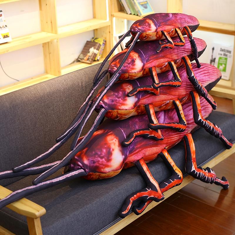 抖音同款:蟑螂抱枕 等身大小强抱枕-2