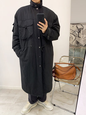 European Zhao Fengxie men's long section loose wild 2020 autumn and winter new heavy work Korean version of the trend handsome jacket