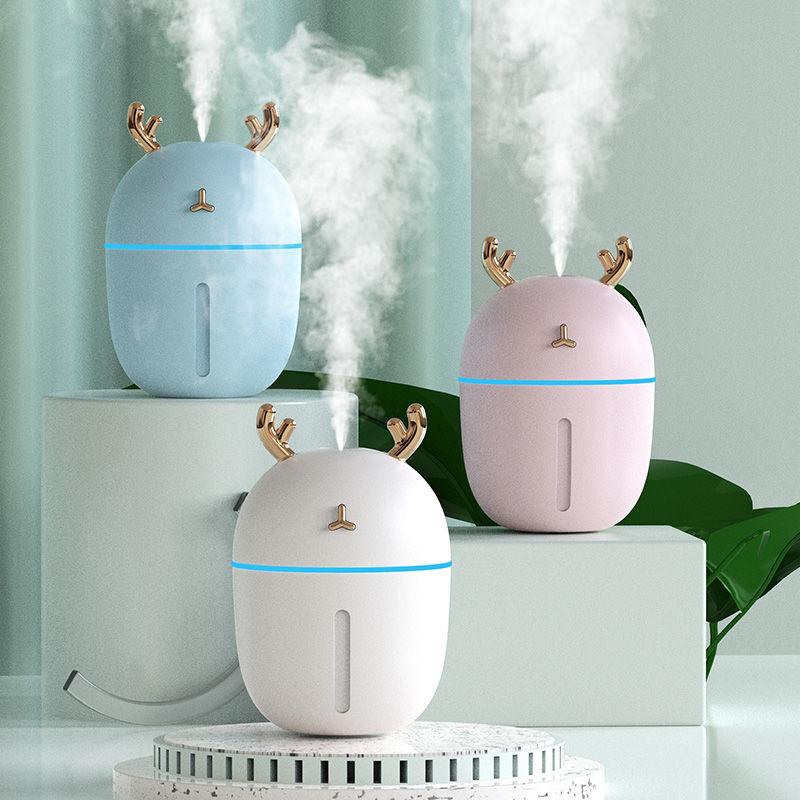 加湿器家用卧室小型迷你空气香薰净化喷雾器补水仪usb空调房车载