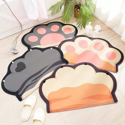 吸水地垫浴室防滑垫家用可爱地毯门垫进门厕所门口脚垫卫生间地垫