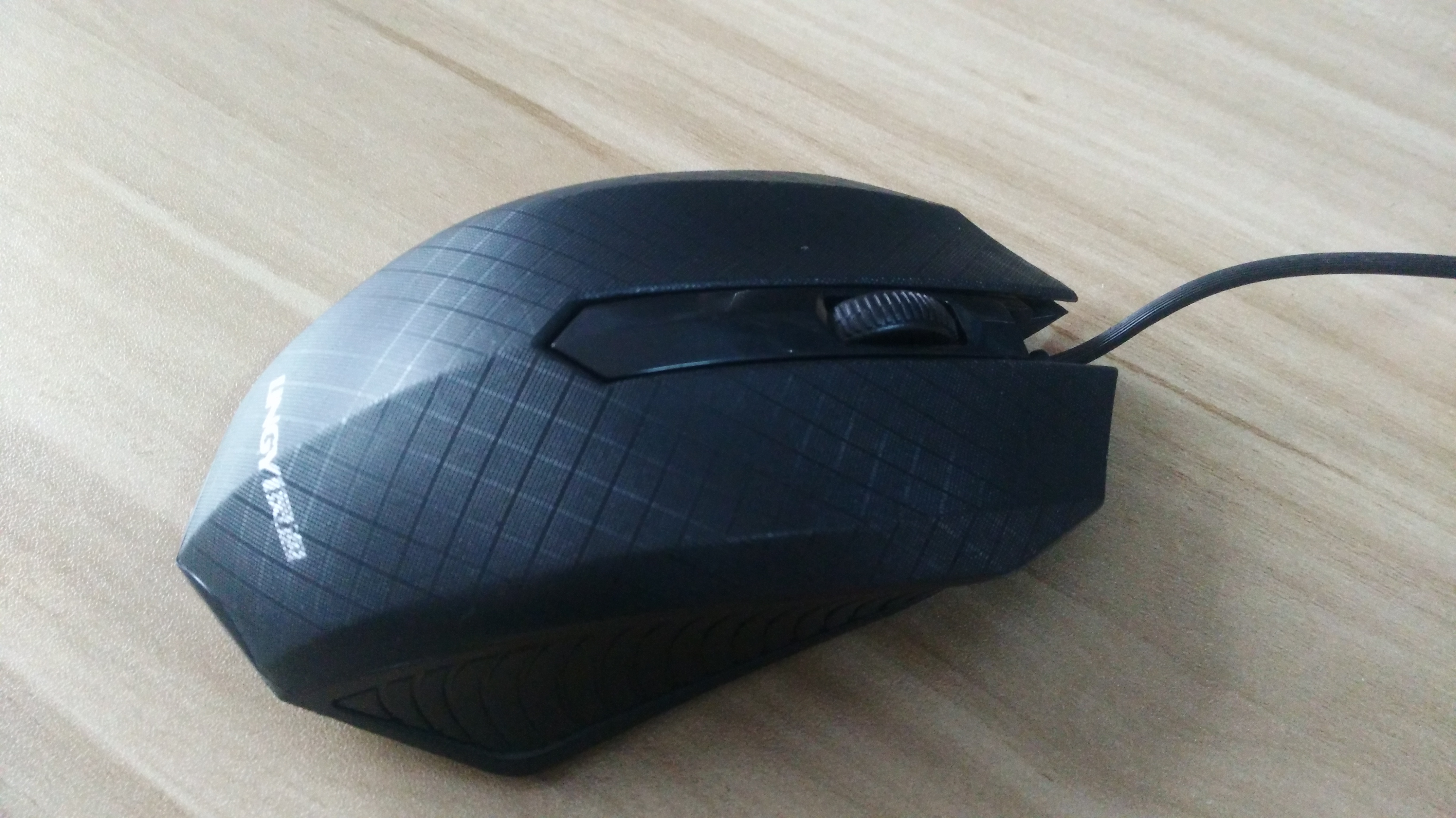 d03076f4b4b USD 6.52] Lingyi mouse USB wired office home mouse classic durable ...