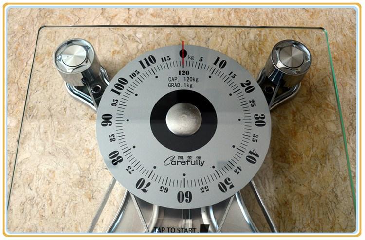 健康Carefully凯芙俪C300包邮人体秤体重称机械称指针称弹簧秤准