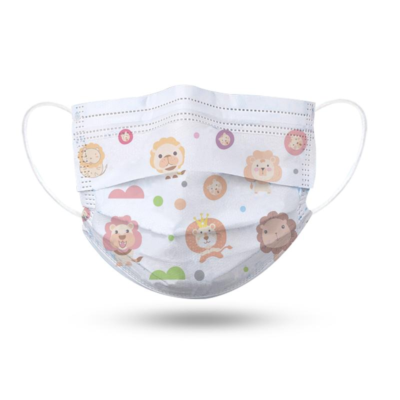 哈库拉玛塔塔 卡通系列一次性儿童口罩 三层防护含熔喷层透气20片